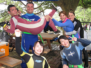 ダイビングスクールご参加ありがとうございます!