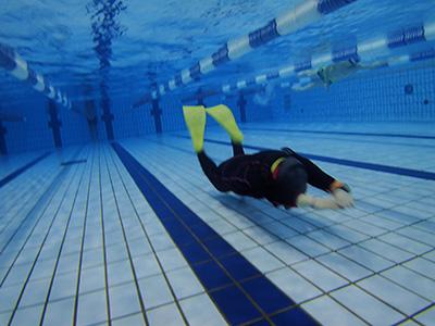 フィンスイミング練習会